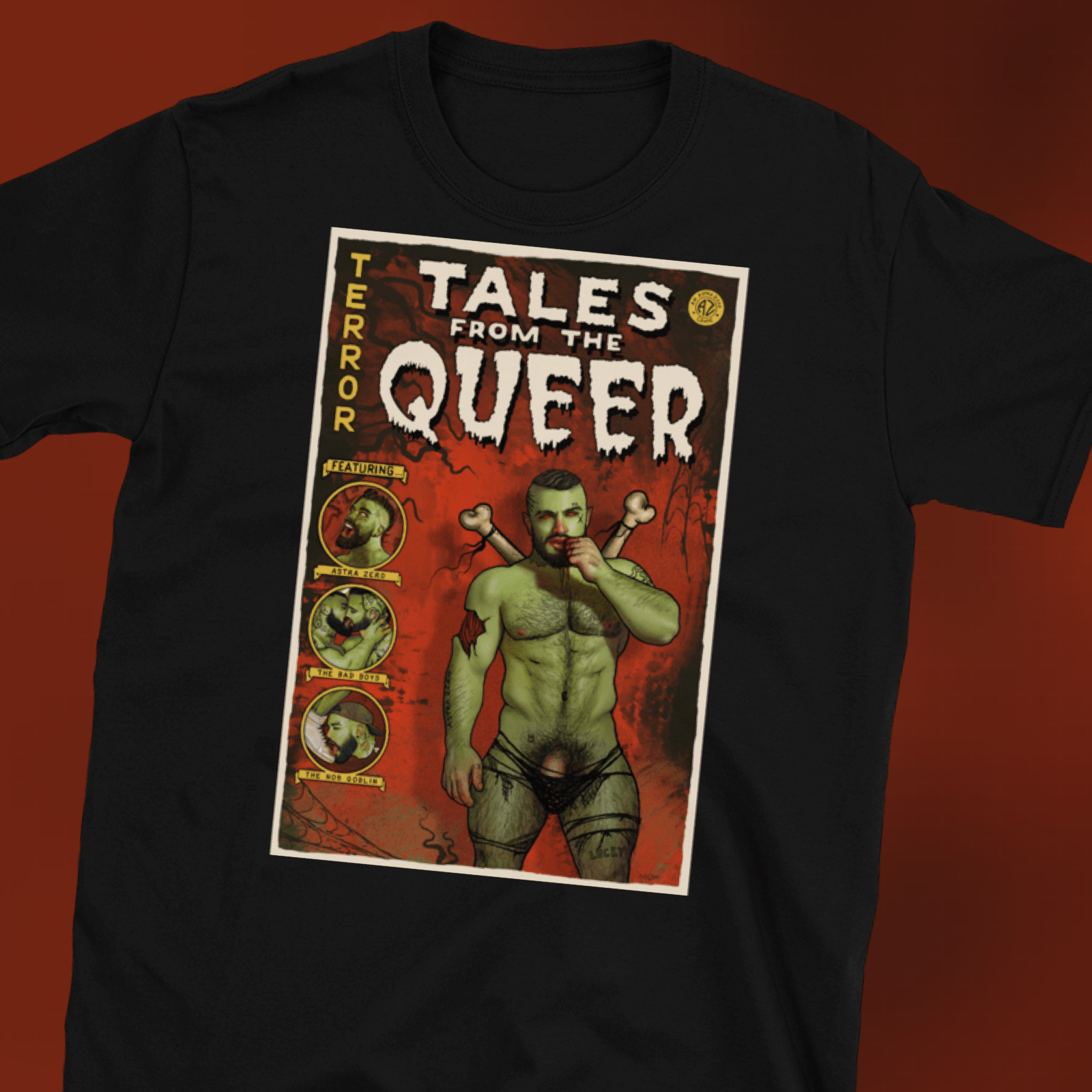 """Featured image for """"Tales from the Queer - Short-Sleeve Unisex T-Shirt"""""""