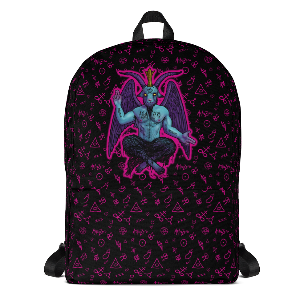 """Featured image for """"Baphomet Pink - Backpack"""""""