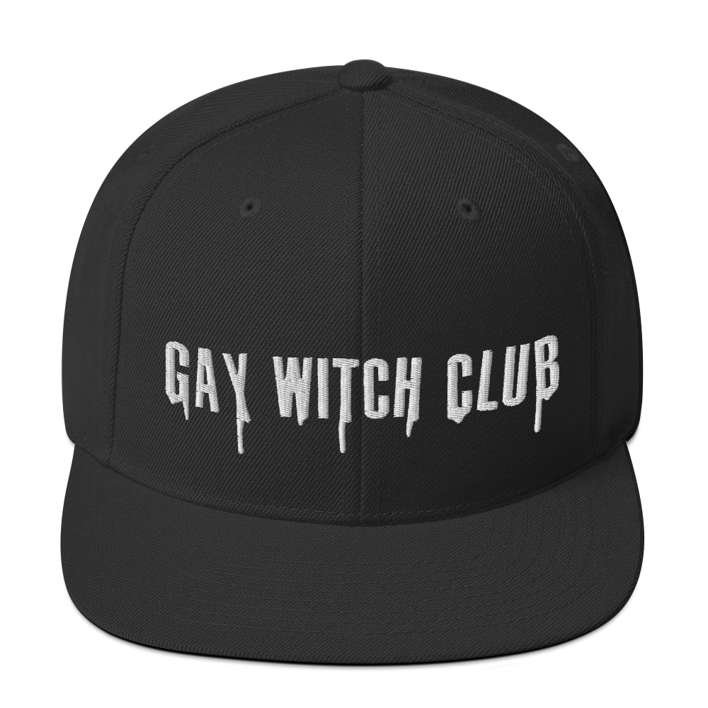 """Featured image for """"Gay Witch Club - Snapback Hat"""""""
