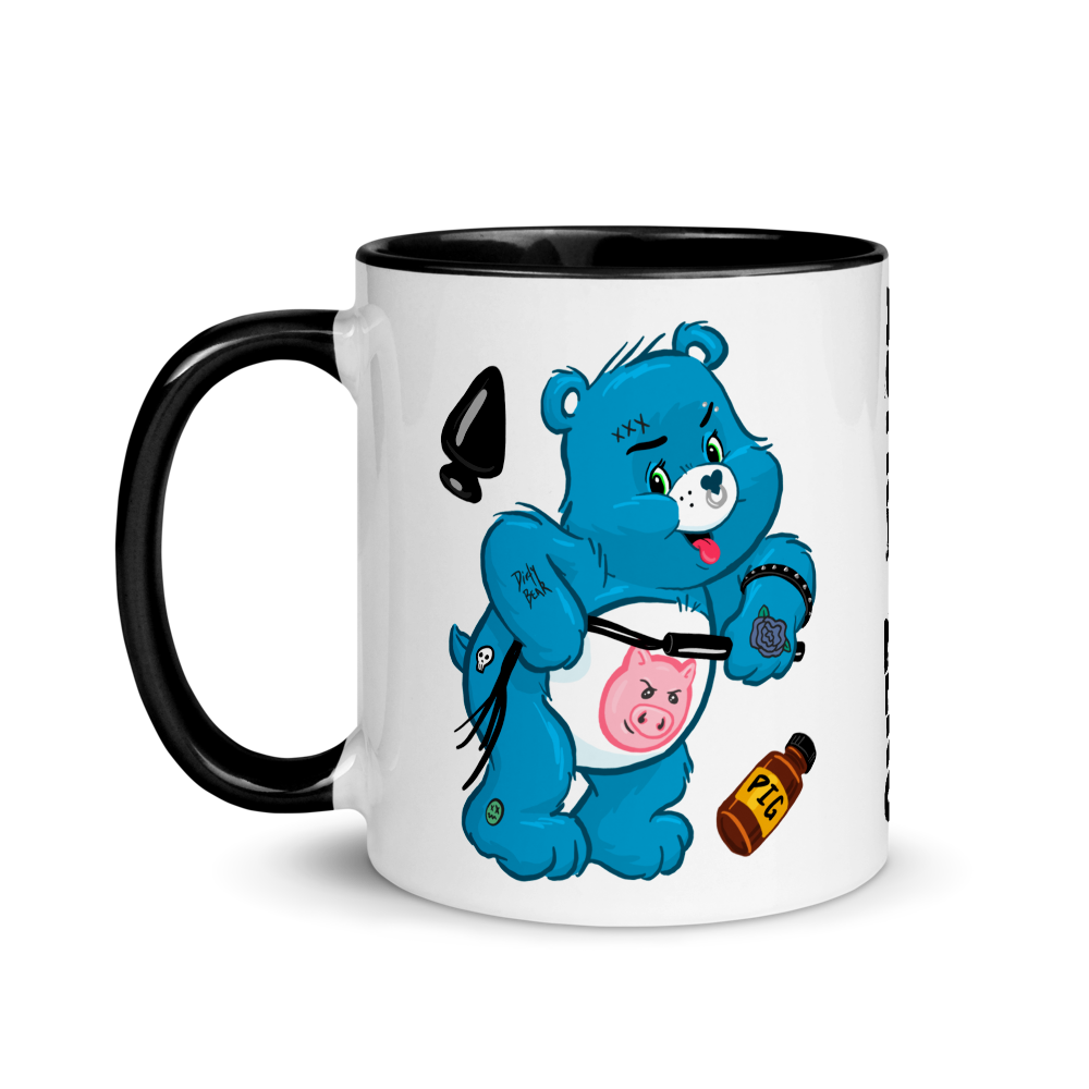 """Featured image for """"Dirty Bear - Mug"""""""