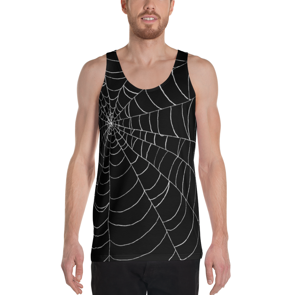 """Featured image for """"Black Web - Unisex Tank Top"""""""