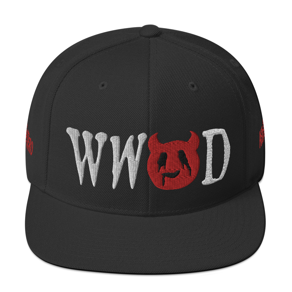 """Featured image for """"WWSD - Snapback Hat"""""""