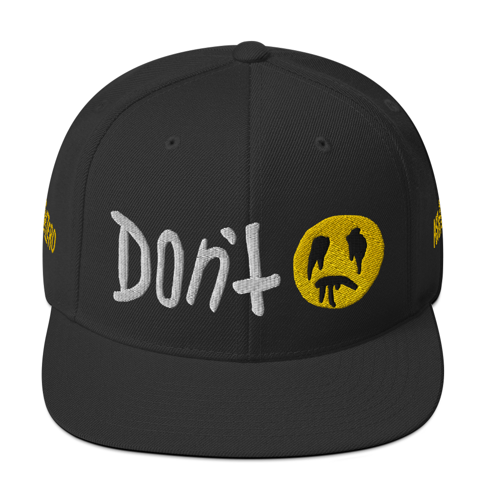 """Featured image for """"Don't - Snapback Hat"""""""