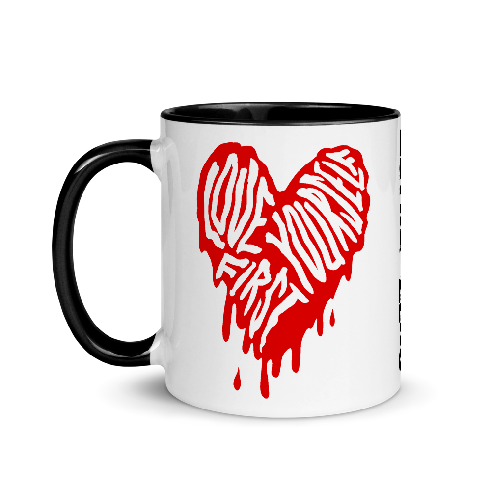 """Featured image for """"Love Yourself First - Mug"""""""