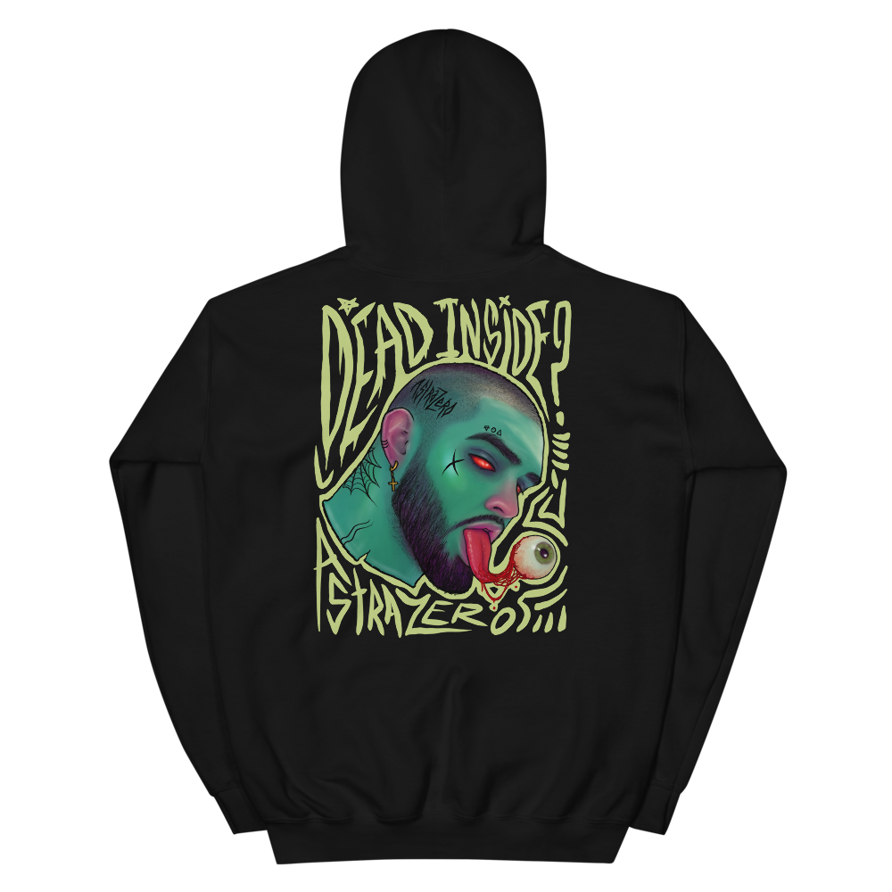 """Featured image for """"Dead Inside - Unisex Hoodie"""""""