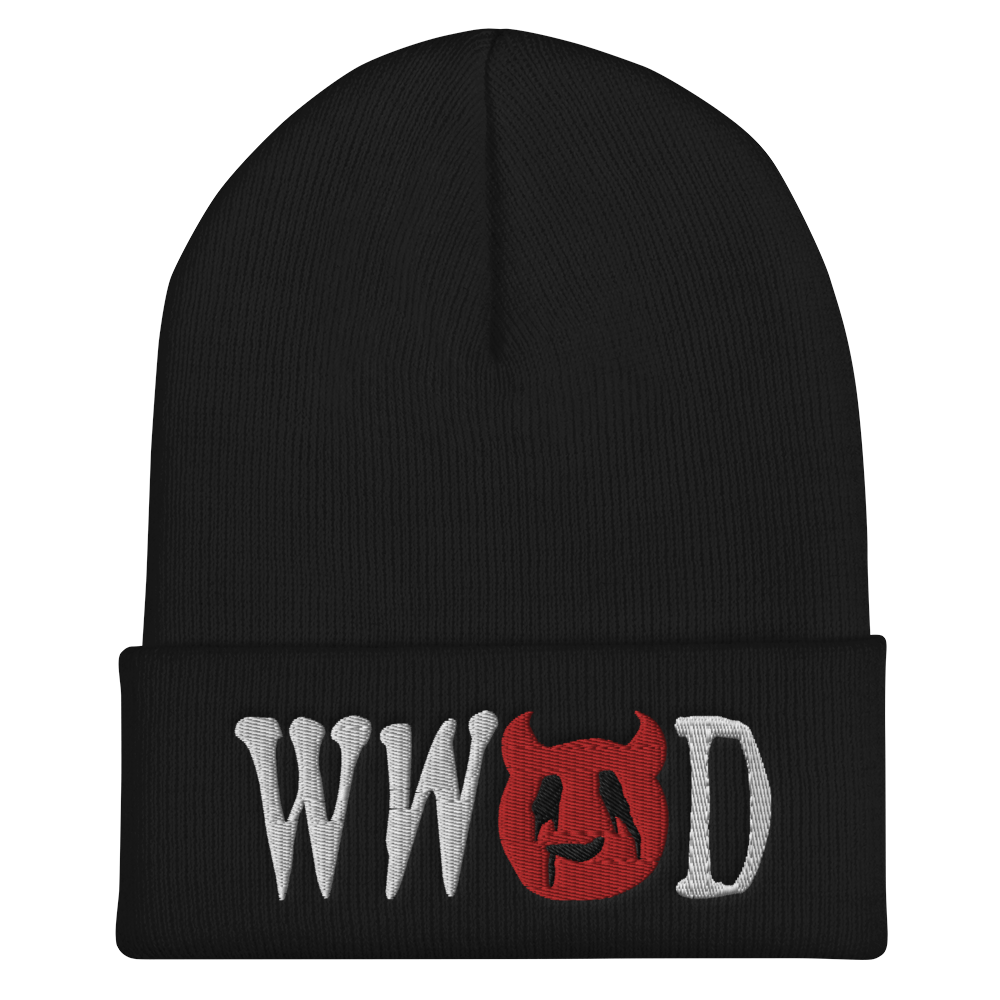"""Featured image for """"WWSD - Cuffed Beanie"""""""