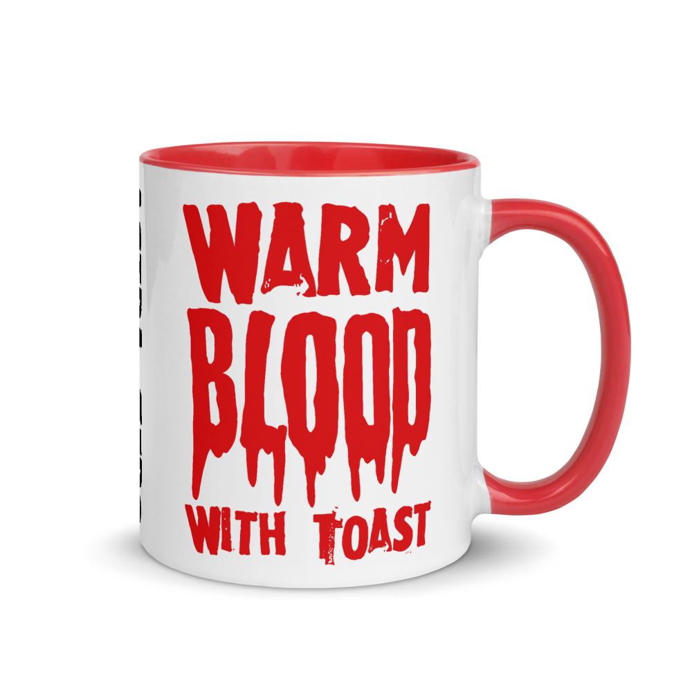 """Featured image for """"Warm Blood with Toast - Mug"""""""