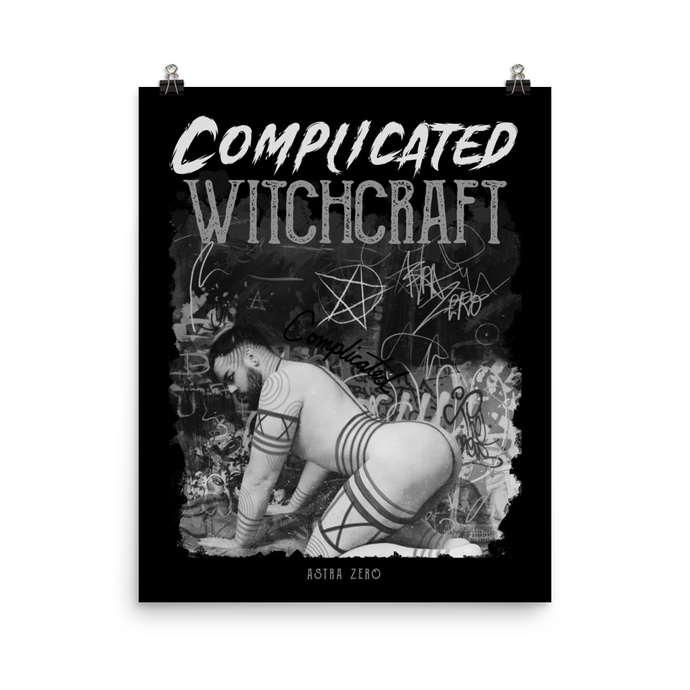 """Featured image for """"Complicated Witchcraft - Poster"""""""