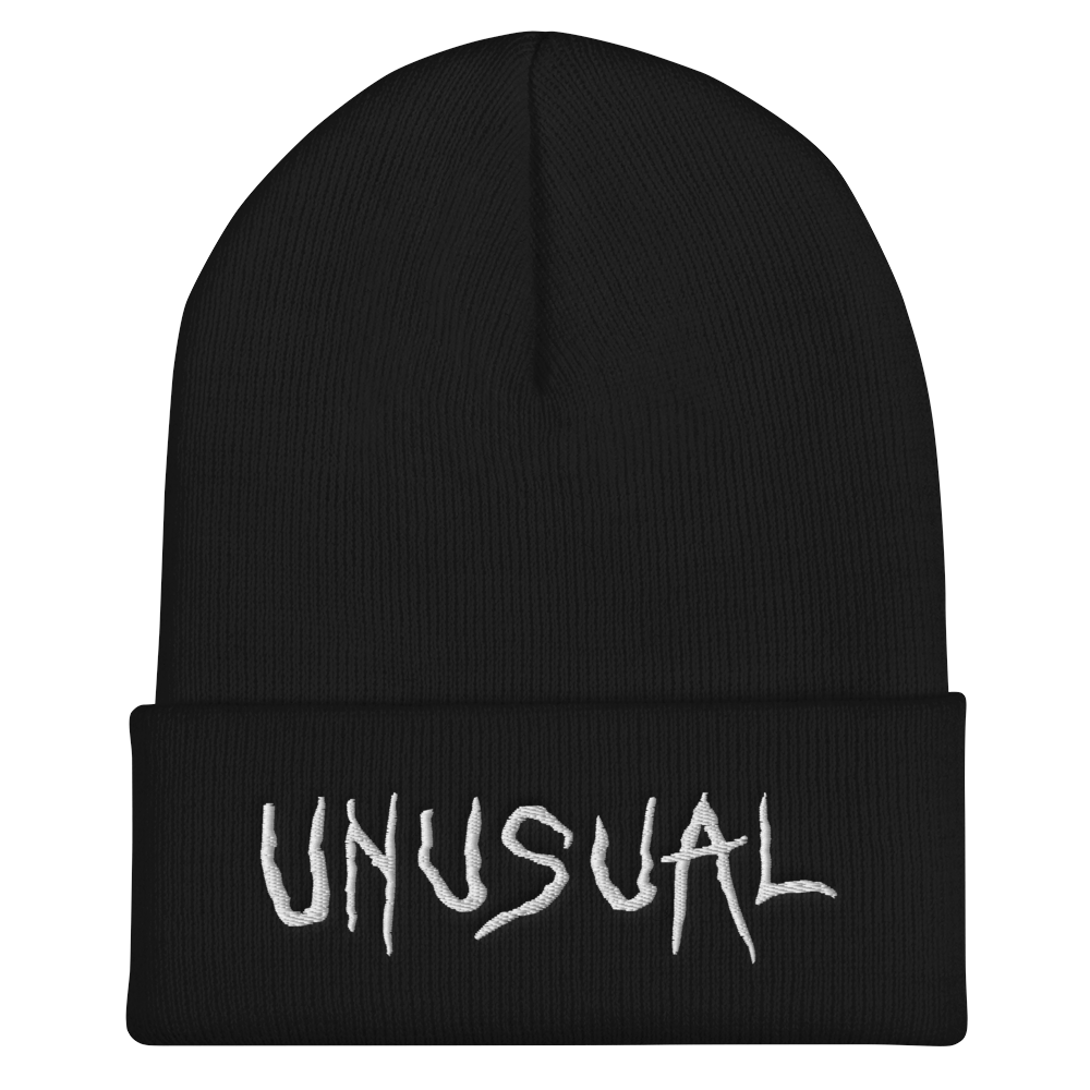 """Featured image for """"Unusual - Cuffed Beanie"""""""