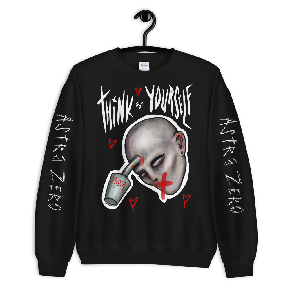 """Featured image for """"Think for Yourself - Unisex Sweatshirt"""""""