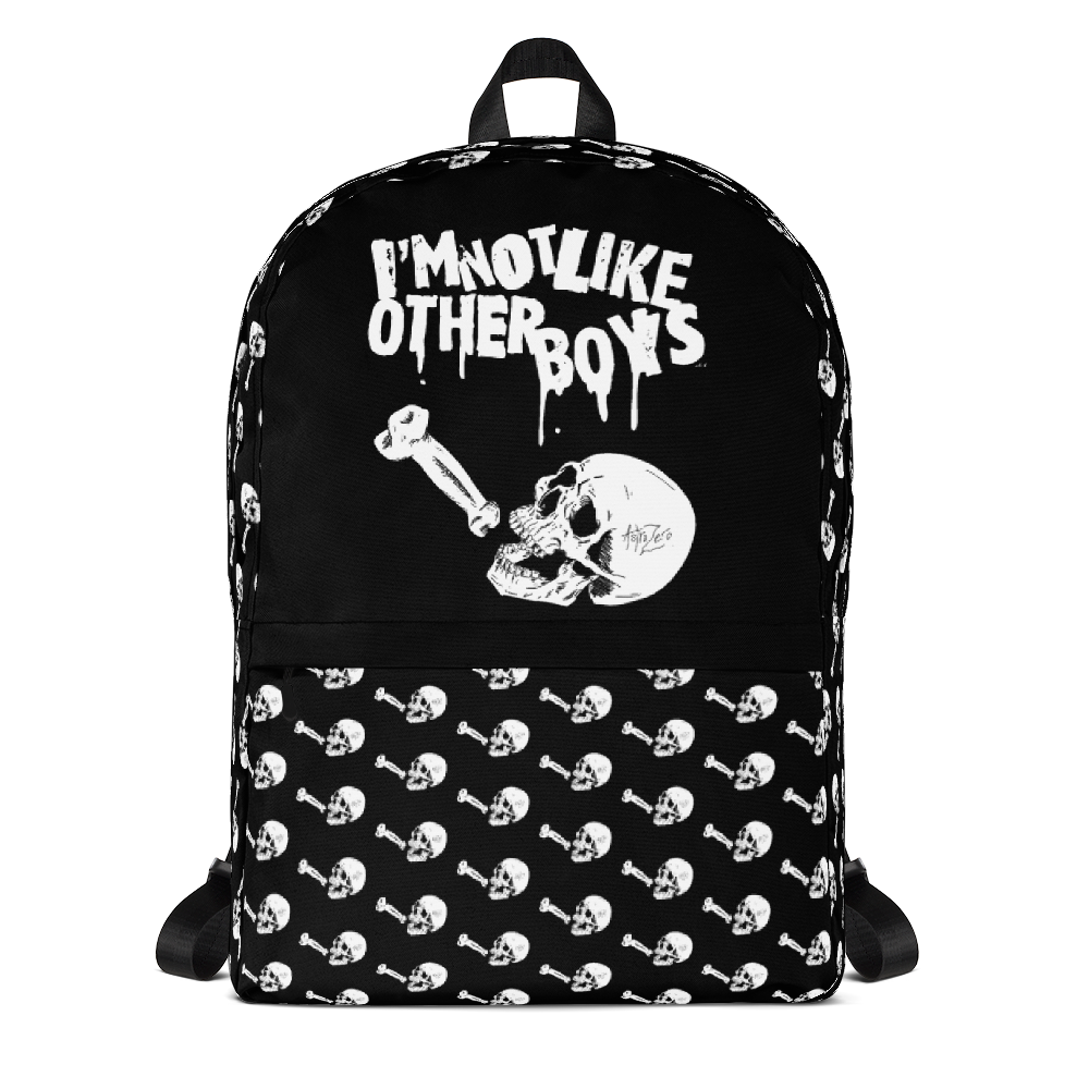 """Featured image for """"I'm Not Like Other Boys - Backpack"""""""