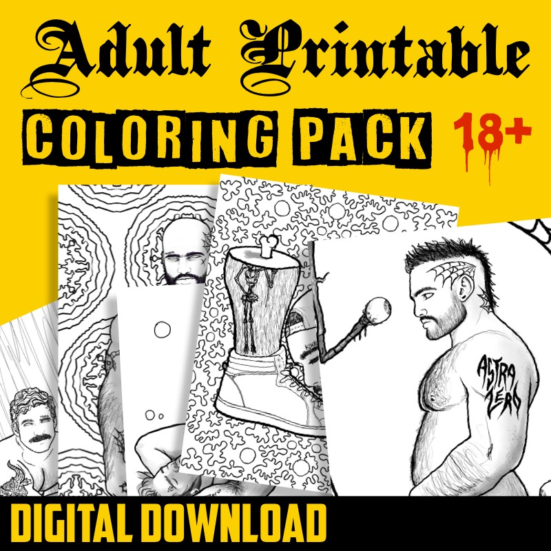 """Featured image for """"Astra Zero : Downloadable Coloring Pack #1"""""""