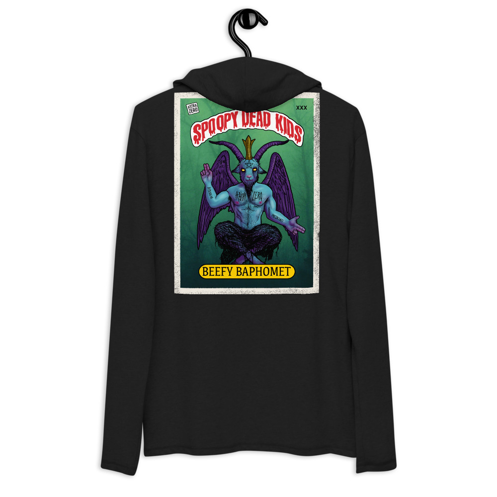 """Featured image for """"Spoopy Dead Kids - Unisex Lightweight Hoodie   District DT571"""""""