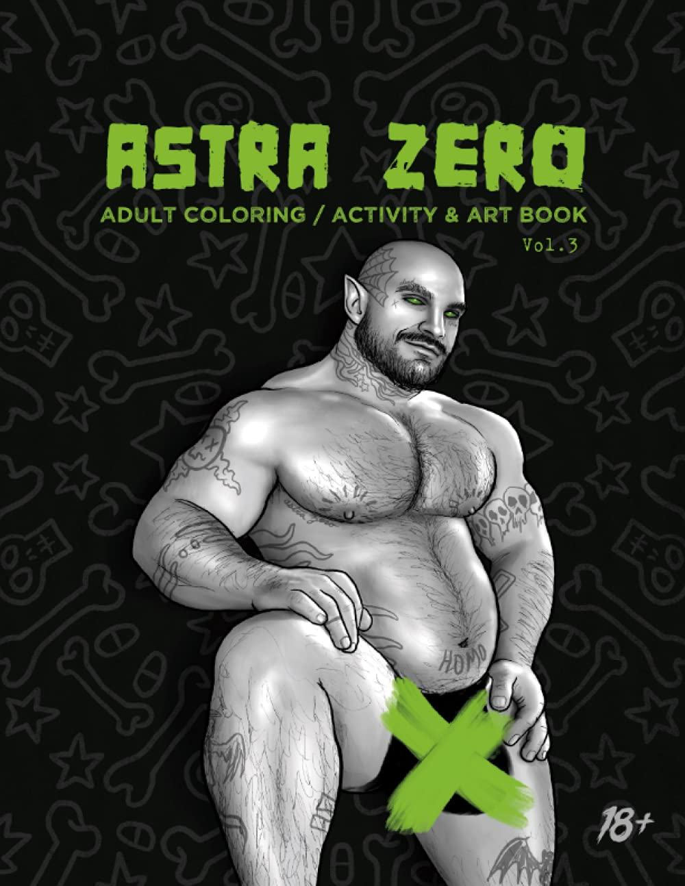 """Featured image for """"Astra Zero : Adult Coloring, Activity & Art Book Vol.3"""""""