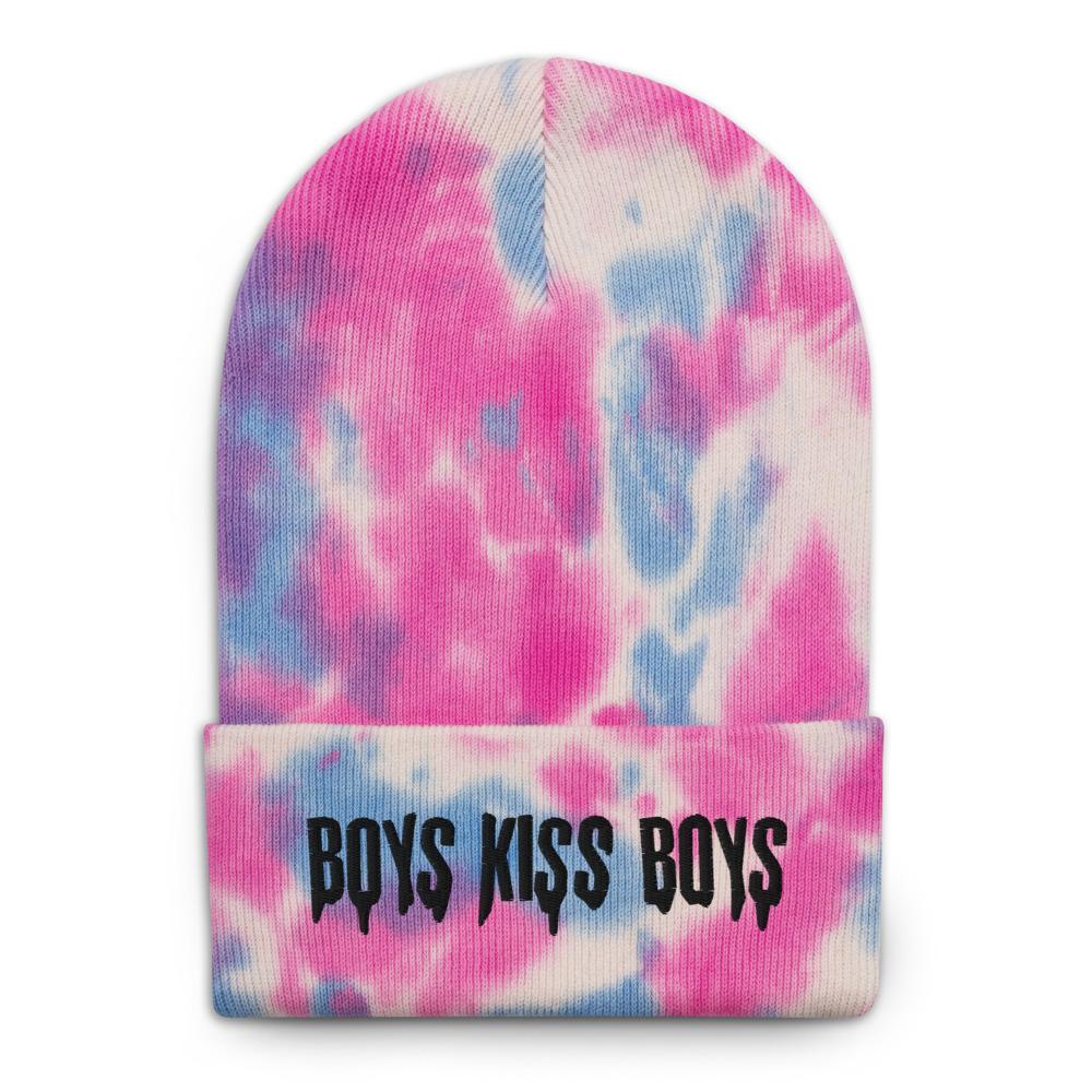 "Featured image for ""Boys Kiss Boys - Tie-dye beanie"""