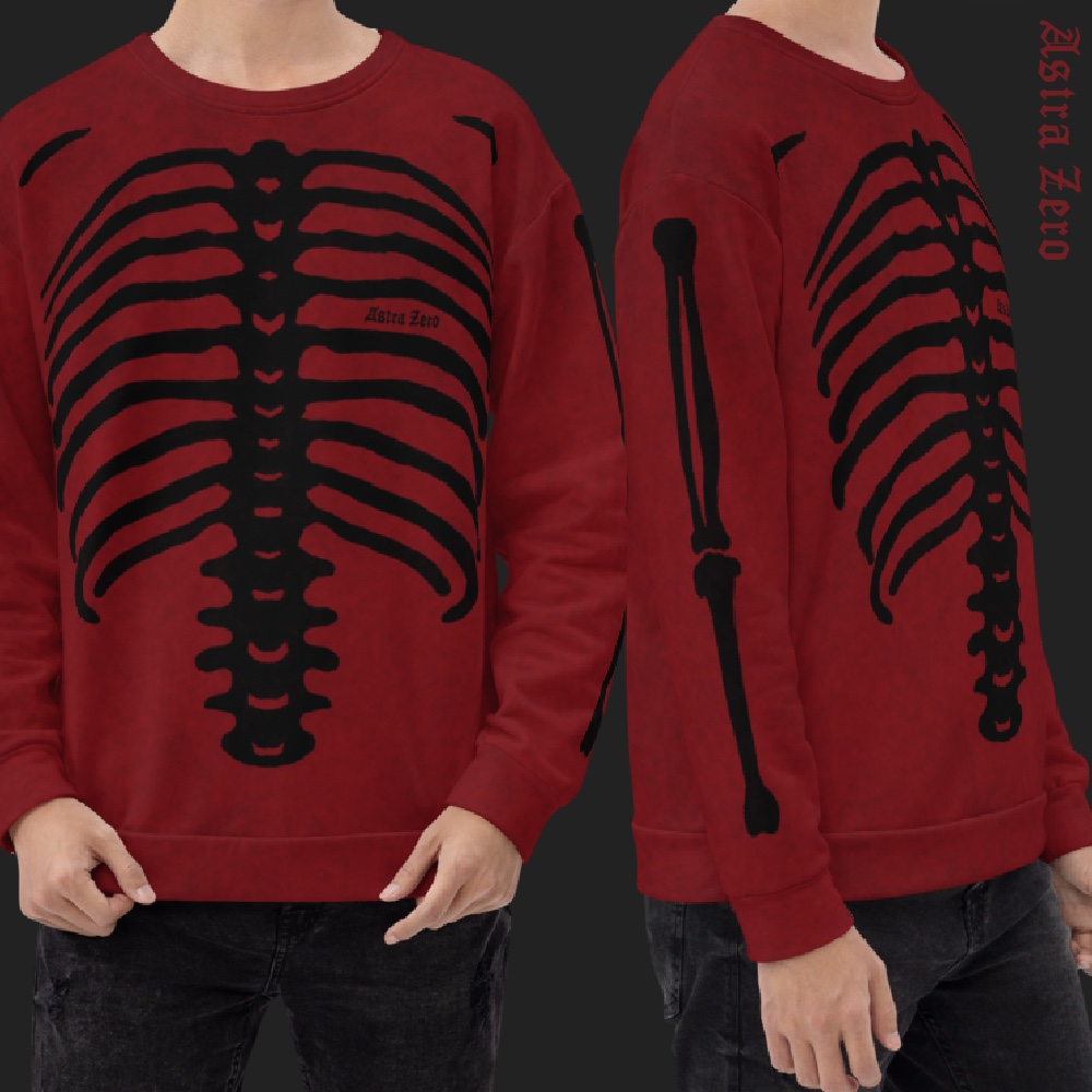 "Featured image for ""Blood Bones - All Over Print - Unisex Sweatshirt"""