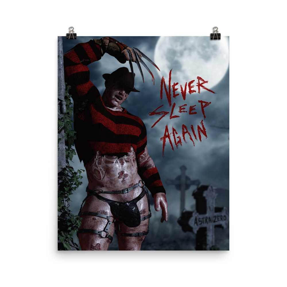 """Featured image for """"Never Sleep Again - Poster Print"""""""