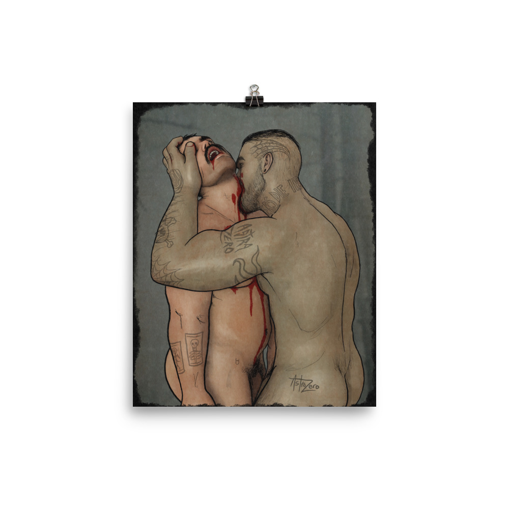 """Featured image for """"Vampire Bite 8x10 - Poster Print"""""""